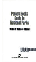 Pocket Books Guide to National Parks