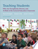 Teaching Students Who Are Exceptional, Diverse, and at Risk in the General Education Classroom, Plus MyEducationLab with Enhanced Pearson EText, Loose-Leaf Version -- Access Card Package