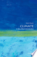 book cover Climate : a very short introduction
