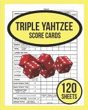 Triple Yahtzee Score Cards For Triple Yahtzee