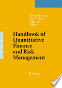 Handbook of Quantitative Finance and Risk Management Book