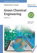 Green Chemical Engineering Book PDF