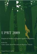 UPRT 2009  Empirical Studies in English Applied Linguistics