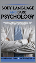 BODY LANGUAGE AND DARK PSYCHOLOGY