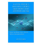 A Level Physics Multiple Choice Questions and Answers (MCQs) Pdf/ePub eBook