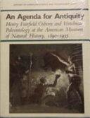 An Agenda for Antiquity