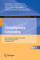 Pdf Contemporary Computing