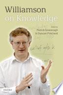 Williamson on Knowledge