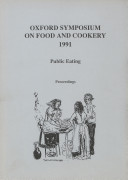Oxford Symposium on Food and Cookery 1991