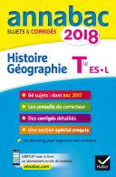 Annales Annabac 2018 Histoire-Géographie Tle L, ES
