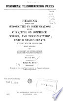Liquefied Energy Gases  : Hearing Before the Committee on Commerce, Science, and Transportation, United States Senate, Ninety-fifth Congress, Second Session ... August 21, 1978 , Partes 1-2