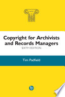 Copyright for Archivists and Records Managers