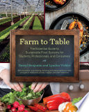 Farm to Table Book