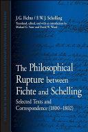 Philosophical Rupture between Fichte and Schelling  The