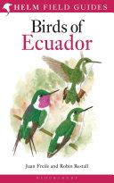 Birds of Ecuador Book