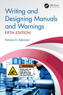 Pdf Writing and Designing Manuals and Warnings, Fifth Edition