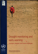Drought Monitoring And Early Warning Book PDF