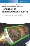 Handbook of Supercapacitor Materials Book