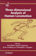 Three Dimensional Analysis Of Human Locomotion Book PDF