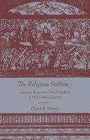 Pdf The Religious Sublime Telecharger