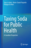 Pdf Taxing Soda for Public Health Telecharger