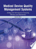 Medical Device Quality Management Systems Book