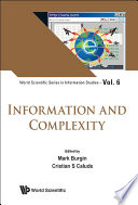 Information And Complexity Book
