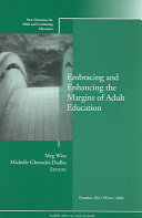 Embracing and Enhancing the Margins of Adult Education