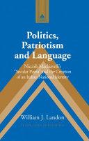 Politics  Patriotism and Language