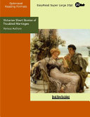 Victorian Short Stories of Troubled Marriages (EasyRead Super Large 20pt Edition)