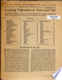 Growing Vegetables in Town and City