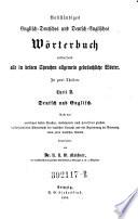 Vollst  ndiges Englisch deutsches und Deutschenglisches W  rterbuch      3  Aufl