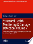 Structural Health Monitoring   Damage Detection  Volume 7