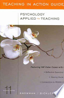 Psychology Applied to Teaching, Teaching in Action Guide