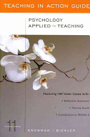 Psychology Applied to Teaching  Teaching in Action Guide