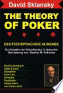 The Theory Of Poker Deutschsprachige Ausgabe