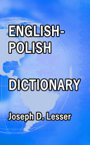 English / Polish Dictionary