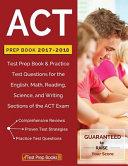 ACT Prep Book 2017 2018