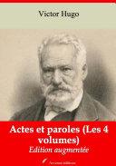 Pdf Actes et paroles (Les 4 volumes) Telecharger