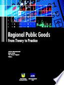 Regional Public Goods Book PDF