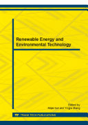 Renewable Energy and Environmental Technology Pdf