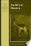 An African Savanna  : Synthesis of the Nylsvley Study