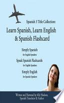 Spanish 3 Title Collection  Learn Spanish  Learn English   Spanish Flashcard