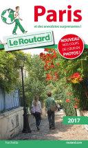 Guide du Routard Paris 2017