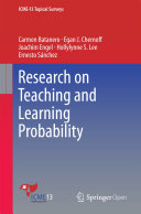 Research on Teaching and Learning Probability