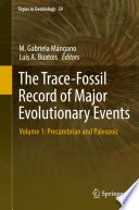 The Trace Fossil Record Of Major Evolutionary Events Book PDF