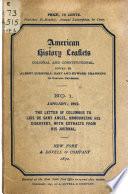 American History Leaflets