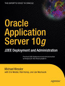 Oracle Application Server 10g Book
