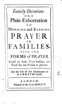 Family-devotion