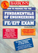 How to Prepare for the Fundamentals of Engineering, FE/EIT Exam